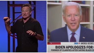 This Decade-Old Robin Williams Stand-Up Bit About 'Rambling' Joe Biden Is Proof Robin Is Still With Us