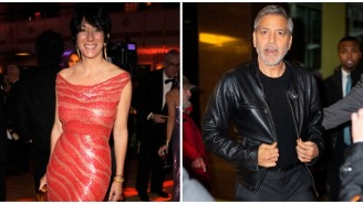 Ghislaine Maxwell Was 'Giddy As A Schoolgirl' About Allegedly Giving George Clooney A Blowjob In A Bathroom