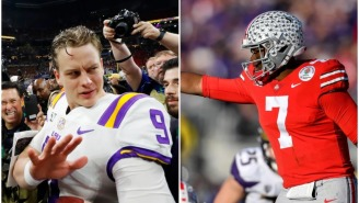 Dwayne Haskins Says He And Joe Burrow 'Couldn't Stand Each Other' During Their Time Together At Ohio State