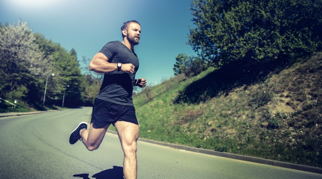 One of the many running benefits is a longer life, according to a study