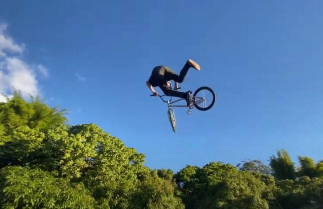 Ryan Williams First BMX Double Backflip