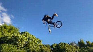 Watch BMX Rider Ryan Williams Land The World's First-Ever 360 Double Backflip