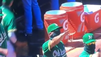 Oakland A's Bench Coach Ryan Christenson Under Fire After Appearing To Do Nazi Salute During Game