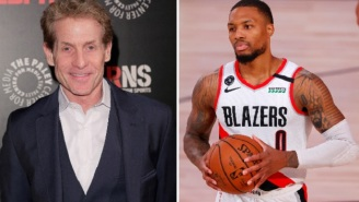 Damian Lillard Reveals Details Of Private Phone Conversation With Skip Bayless On Carmelo Anthony's Podcast, Bayless Fires Back