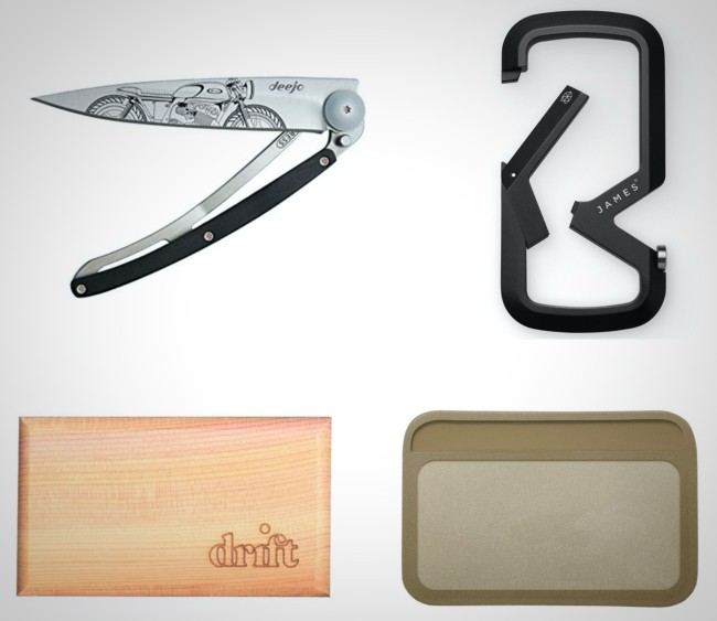 stylish and functional everyday carry items