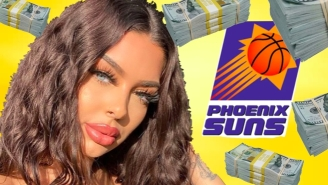 Model Makes Sound Investment Decision By Revealing She Hooked Up With Seven Phoenix Suns
