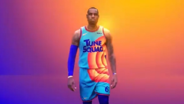 lebron tune squad jersey space jame