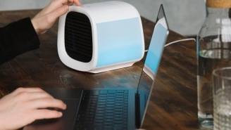 Beat The Heat Anywhere Anytime With This Ultra-Portable And Affordable Personal Air Cooler