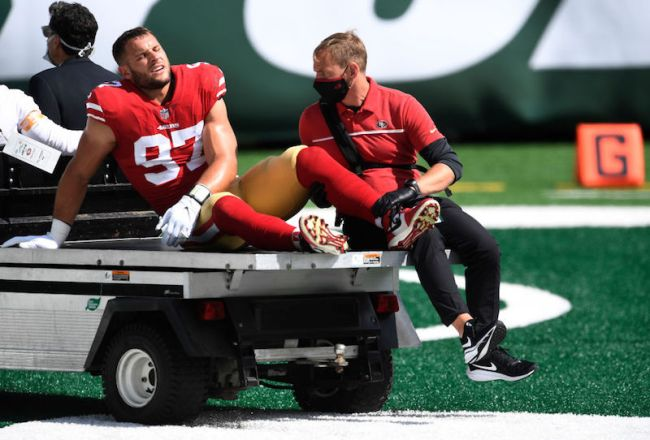 49ers Pissed And Blaming 'Trash' MetLife Turf For Multiple Player Injuries