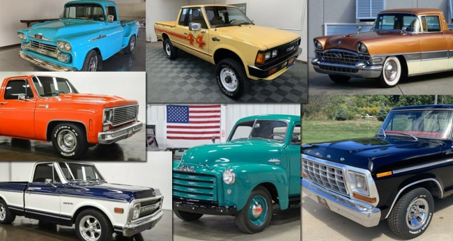 Best Vintage Pickup Trucks For Sale Online This Week