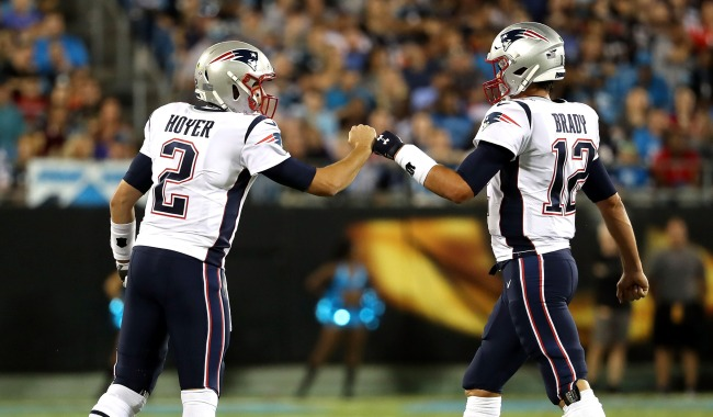 Brian Hoyer Losing Tom Brady Hasnt Affected Patriots Offense Much