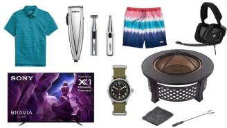 Daily Deals: Hair Trimmers, Fire Pit Sets, Gaming Headsets, Vineyard Vines Sale And More!