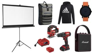 Daily Deals: Watches, Projector Screens, Bluetooth Speakers, Backpacks, Men's Wearhouse Clearance And More!