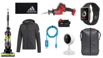 Daily Deals: USB Cables, Apple Watches, Vacuum Cleaners, adidas Fall Sale And More!