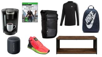 Daily Deals: Coffee Makers, Backpacks, Bluetooth Speakers, Coffee Tables, adidas Sale And More!