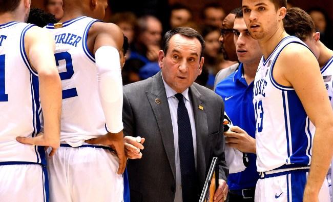 Duke Coach Mike Krzyzewski Has An Idea For The 2021 NCAA Tournament