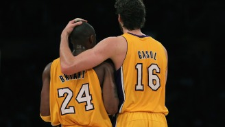 Pau Gasol Names First Child After Kobe Bryant's Daughter And Names Vanessa Her Godmother