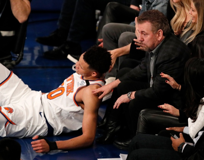 James Dolan New York Knicks owner