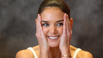 Guy Reportedly Dumps Fiancée Over Text After Getting Handsy With Katie Holmes