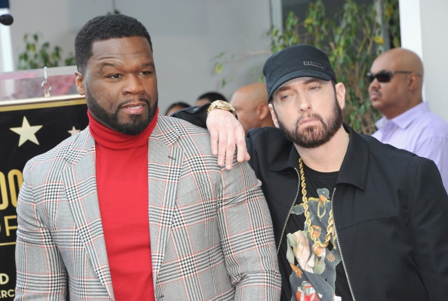 50 Cent Reveals The Heartwarming Random Texts He Receives From Eminem That Make His Day