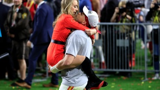 Patrick Mahomes Just Sent Men Back Centuries By Proposing To His GF With A Ring The Size Of A WNBA Ball