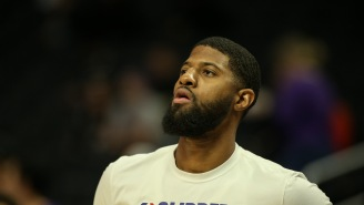 Several Clippers Players Reportedly Rolled Their Eyes At Paul George After He Gave A Speech About Wanting To Come Back And Contend Next Season
