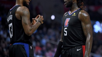 Paul George Reportedly Blamed Montrezl Harrell For One Of His Mistakes And The Two Had It Out On The Bench