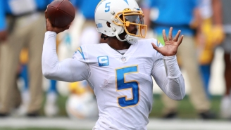NFL Fans React To Chargers Team Doctor Accidentally Injuring QB Tyrod Taylor By Puncturing His Lung Before Sunday's Game Vs Chiefs
