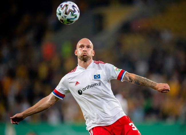 Toni Leistner Hamburger SV soccer fight