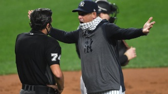 Aaron Boone Just Got Ejected; Hilarious Sound Byte Included