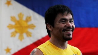 Manny Pacquiao Says He's Donating 'Huge Portion Of His Earnings' In Fight With Conor McGregor To Filipinos Affected By COVID-19