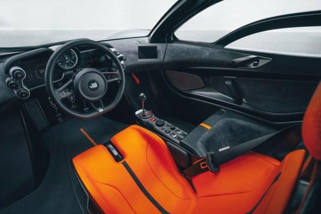 Gordon Murray Automotive T 50 supercar