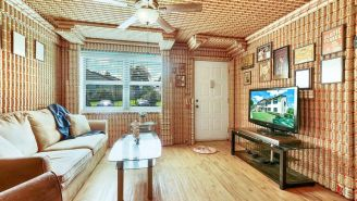 This Remarkably Affordable Home Completely Decorated With Beer Cans Comes With Free Budweiser