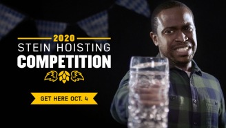 Buffalo Wild Wings Is Hosting A Stein Hoisting Competition This Sunday, With A Chance To Win A Trip To Munich