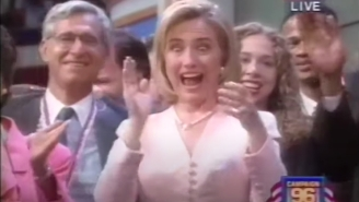 Let's Revisit The Horrifying Dance Party At 1996 Democratic National Convention Before We Cast Judgement On 2020