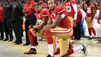Nike Jersey Honoring 4-Year Anniversary Of Colin Kaepernick Taking A Knee During Anthem Sells Out In Seconds