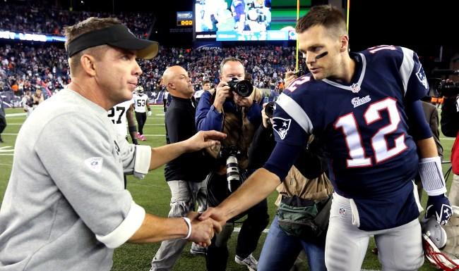 Sean Payton Is A Big Fan Of Tom Brady Not So Fond Of TB12 Water