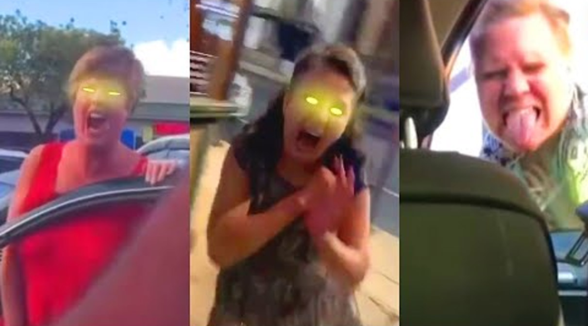 Someone Added Zombie Effects To A Bunch Of Screaming 'Karens' To Better Illuminate The Current Karenocalypse