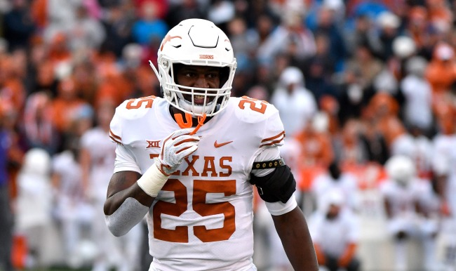 Texas Safety BJ Foster Quit The Team In Middle Of Saturdays Game