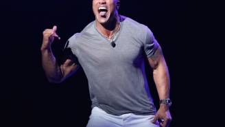 The Rock Proves He's Superhuman By Ripping Electric Gate Off Hinges After Losing Power