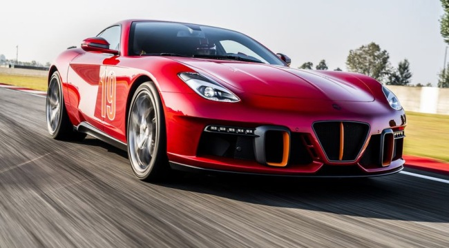 Touring Superleggera Unveils Aero 3 Supercar