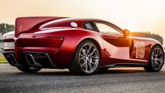 Italian Coachbuilder Touring Superleggera Unveils Stunningly Sexy New V-12 Aero 3 Supercar