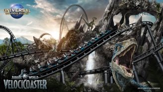 Universal Studios Announces Epic New Roller Coaster – Jurassic World VelociCoaster, Coming Summer 2021