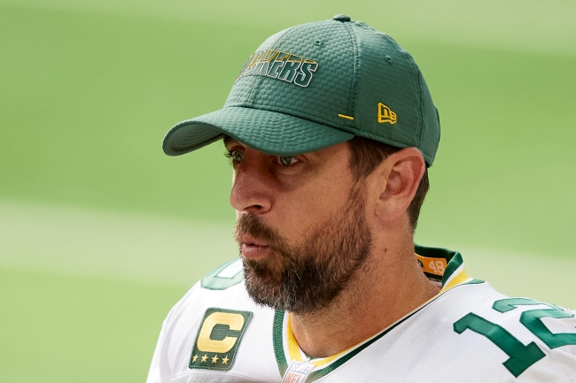 Aaron Rodgers sort of dogs his ex, Danica Patrick, while explaining why he's now living his best life