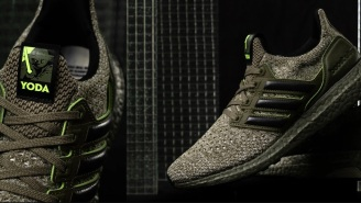 adidas Is Releasing Yoda Ultraboost Sneakers To Celebrate 'Empire Strikes Back'