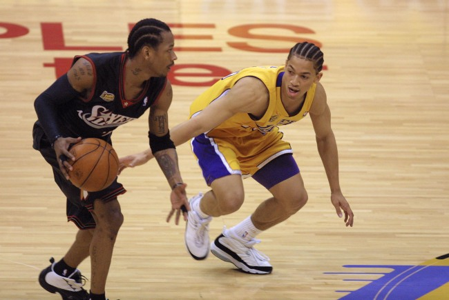 Allen Iverson admits he hates his iconic stepover of Ty Lue in the 2001 NBA Finals