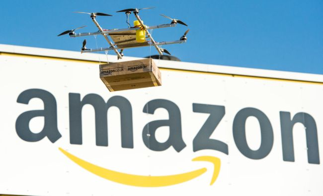 amazon drone delivery commercial