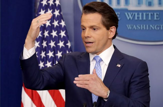 anthony scaramucci white house pooping story