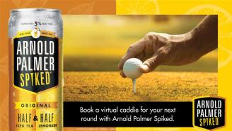 Want A Virtual Pro Caddie For Your Next Round Of Golf? Arnold Palmer Spiked Is Making It Happen