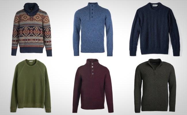 best men's everyday sweaters